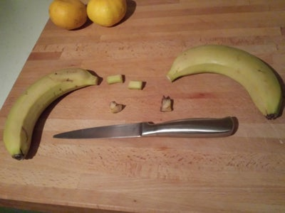 Cut Off the Banana Ends