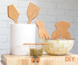 Making Wooden Kitchen Utensils With the Shaper Origin