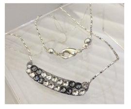 Silver Crystal Pendant