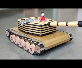 How to Make a RC Battle Tank With Motorized Fire