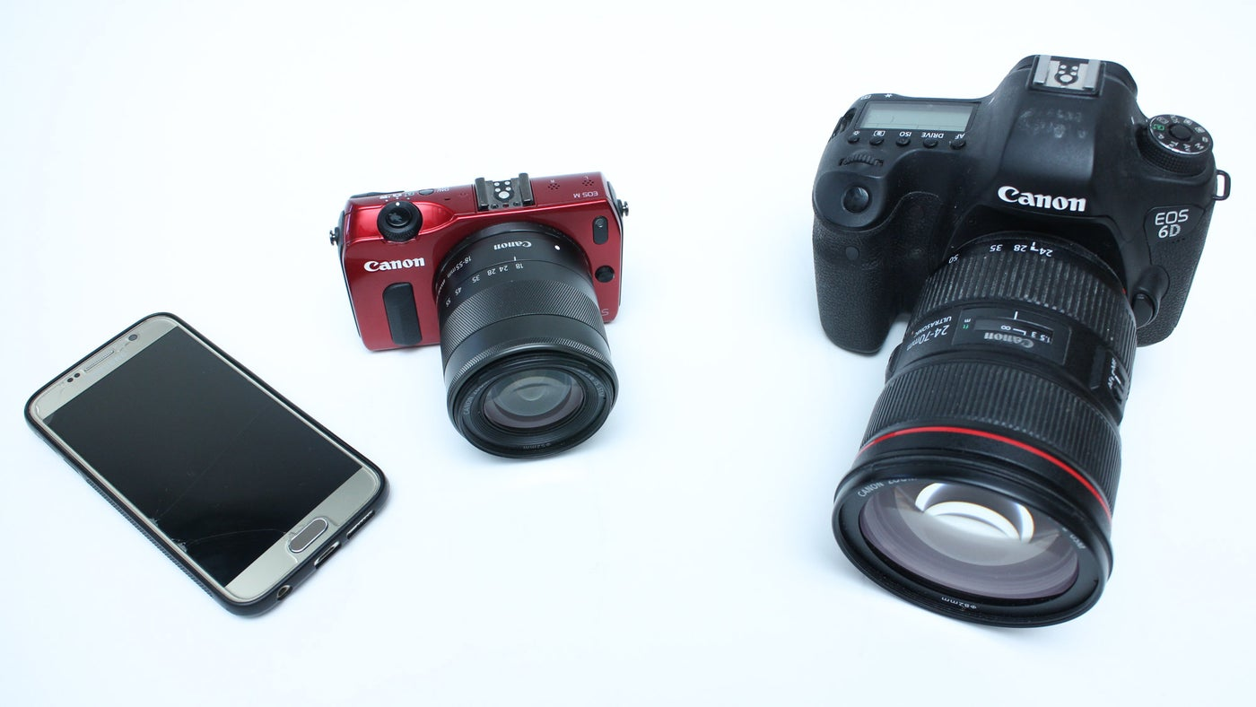 Choosing a Camera for Photogrammetry