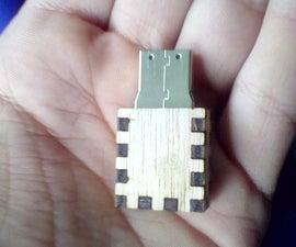 Laser Cut Flash Drive Cover