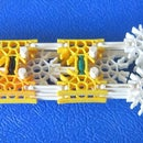 How to make a working K'nex ratchet.