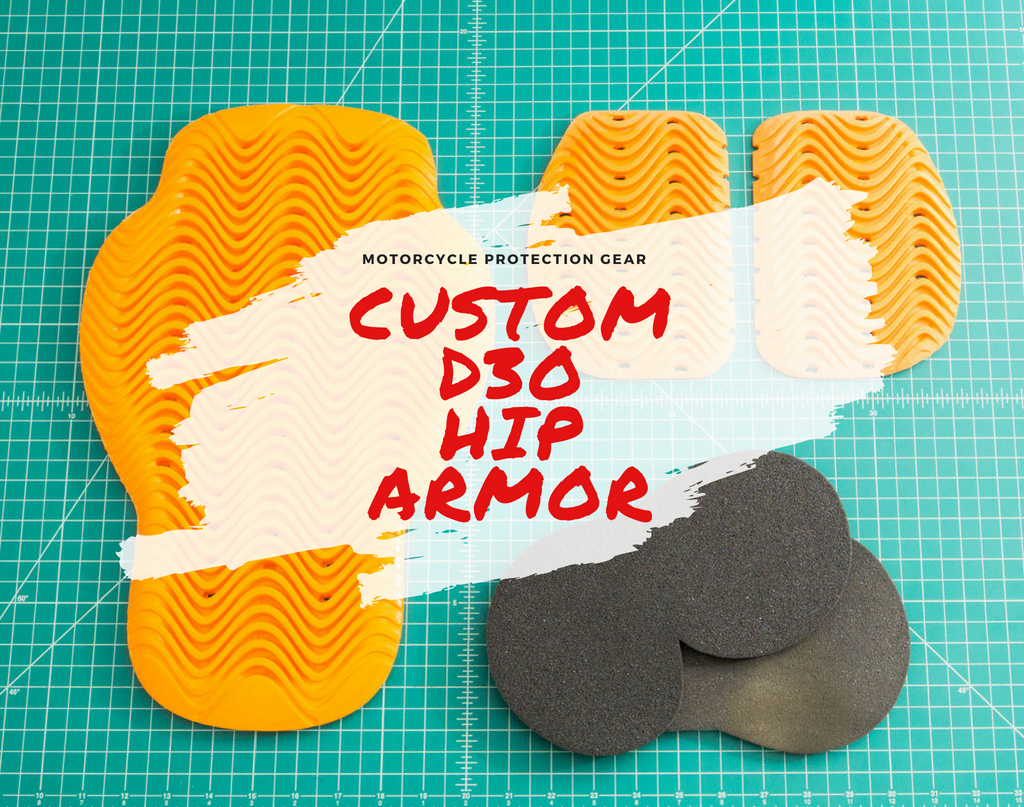 Picture of Budget Custom CE Rated Motorcycle Armor From D3O - Hip Armor