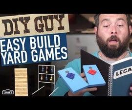 DIY Guy - Lawn Games