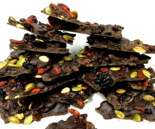 Delectable Superfruit Chocolate Bark