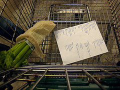 Picture of Grocery Shop With a List.
