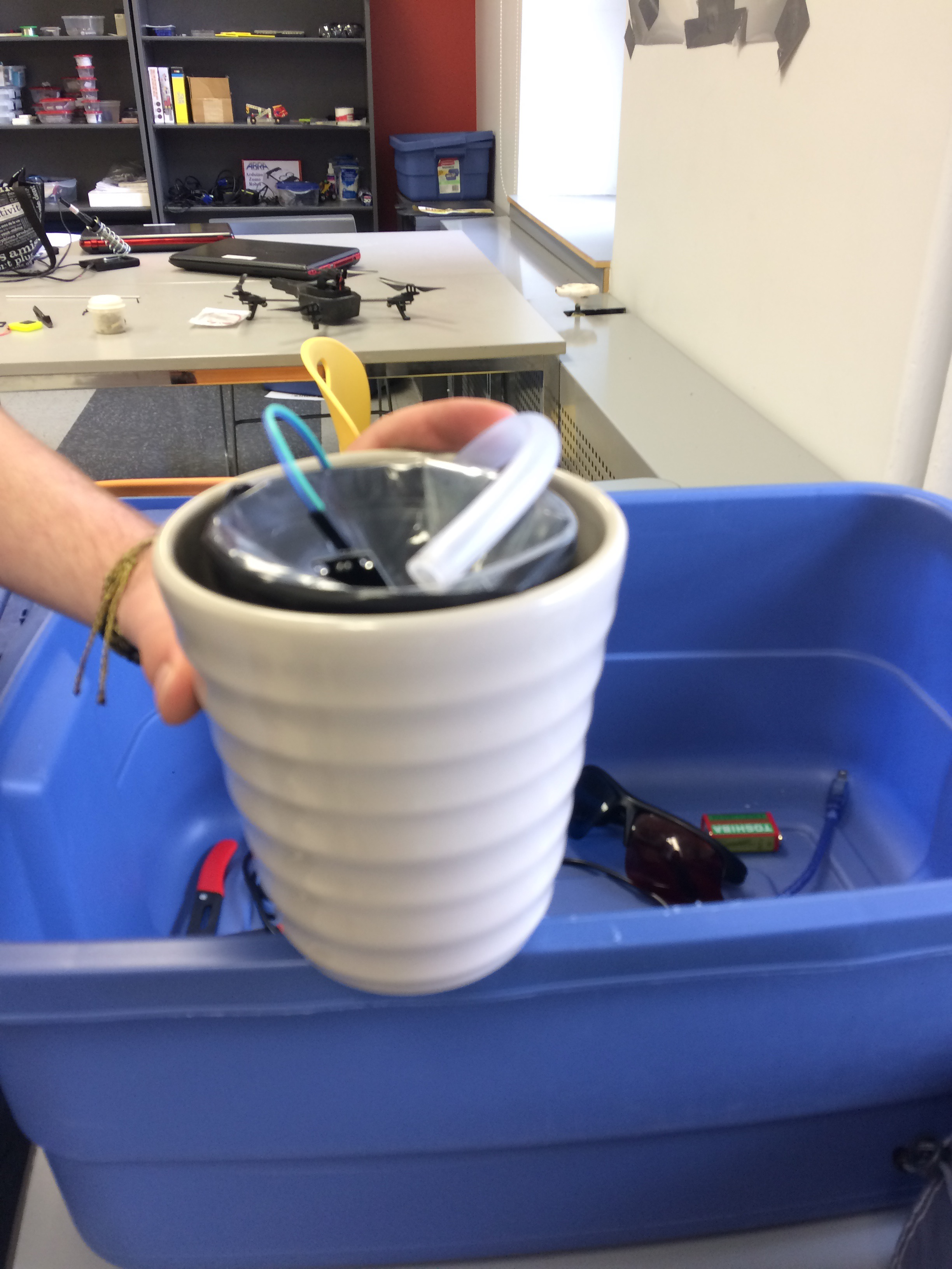 Picture of Arduino Self-Watering Plant Pot
