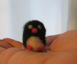 Cute+Easy Needle Felt Penguin