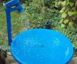 Satellite Bird Bath/Pond