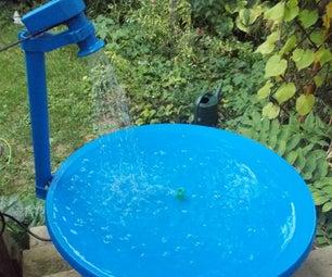 Satellite Bird Bath/Pond and an Update