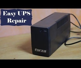 How to repair a UPS that is not powering on