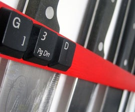 DIY Knife Rack