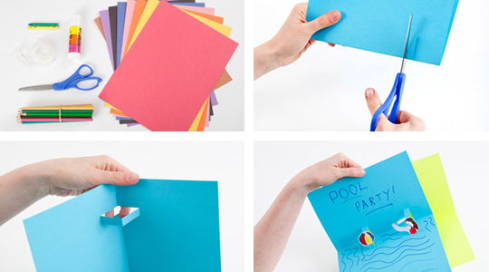 Picture of Make Your Own Floating Box Pop-Up Card