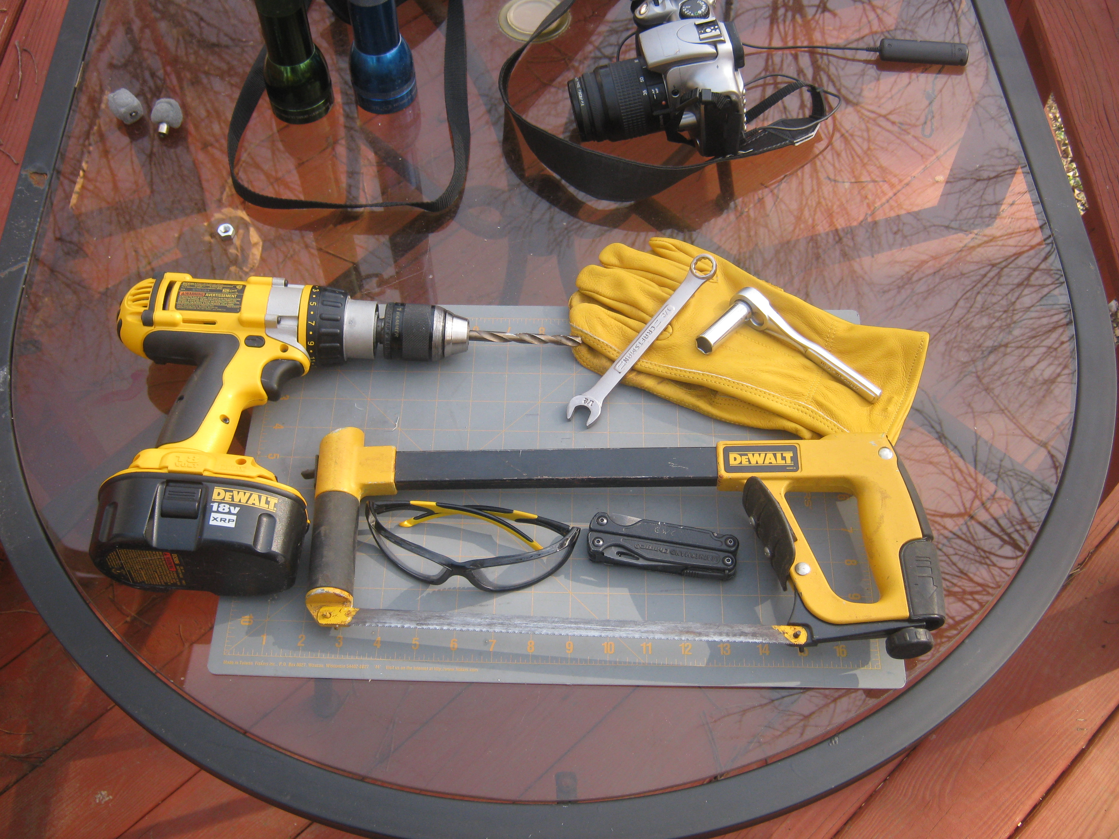Picture of TOOLS AND SAFETY EQUIPMENT