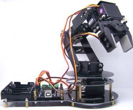 Bluetooth controlled arduino robot arm