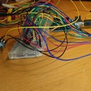 Beginner tutorial: Controlling LED matrix with 2 595 shift registers and potmeter