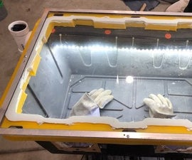 DIY Sand Blasting Enclosure.