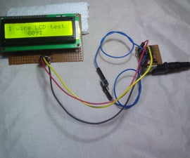 low cost 1 wire lcd  for 8 pin micro controllers [romanblack shift1 system ]