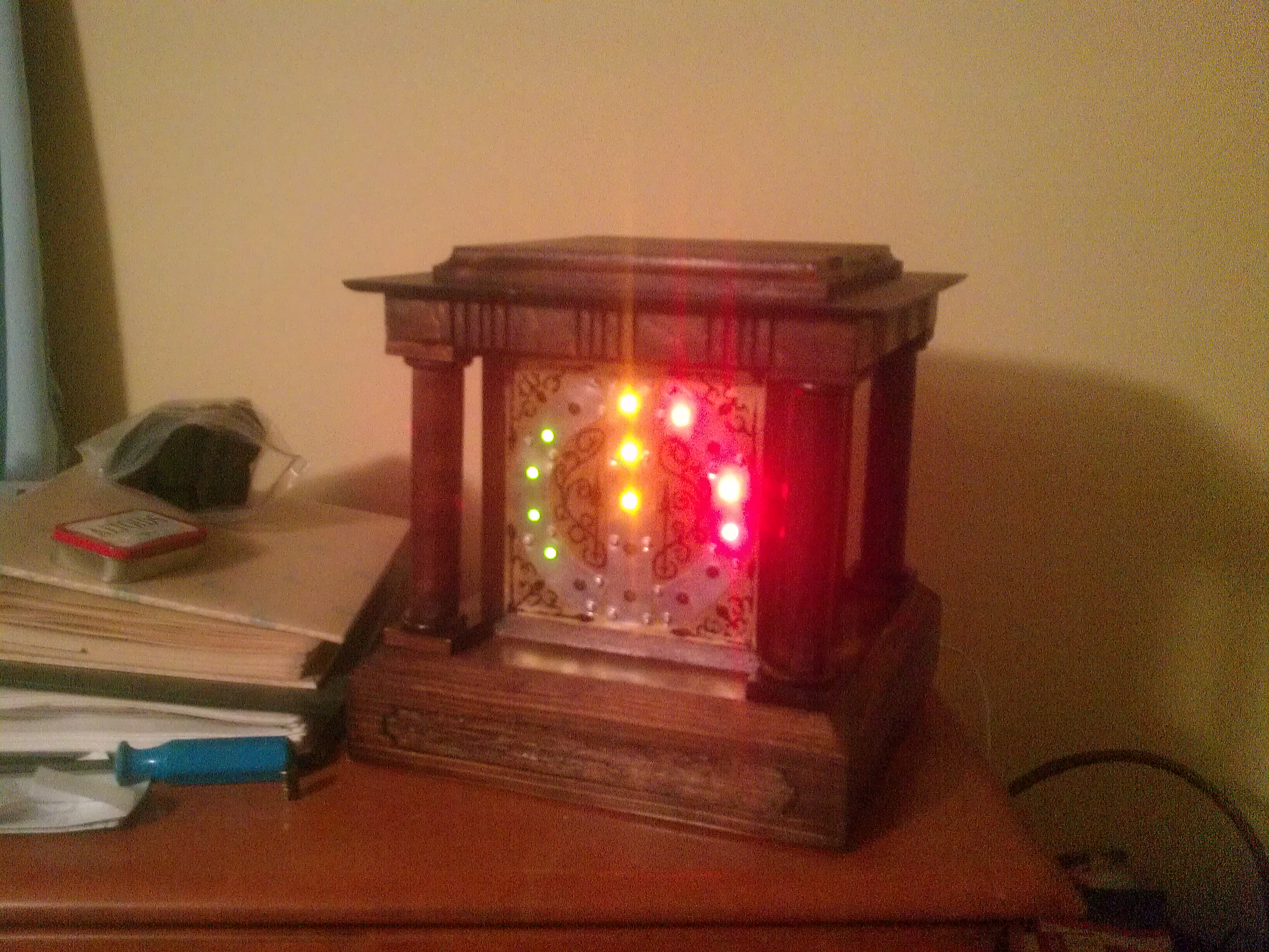 Picture of Victorian Inspired Binary Clock