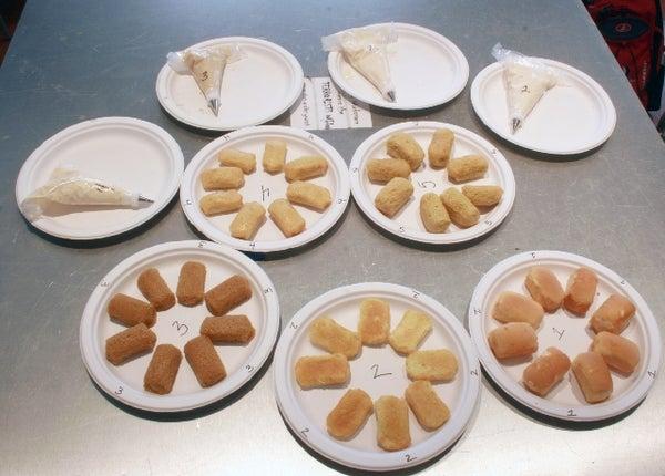 Homemade Twinkie Challenge