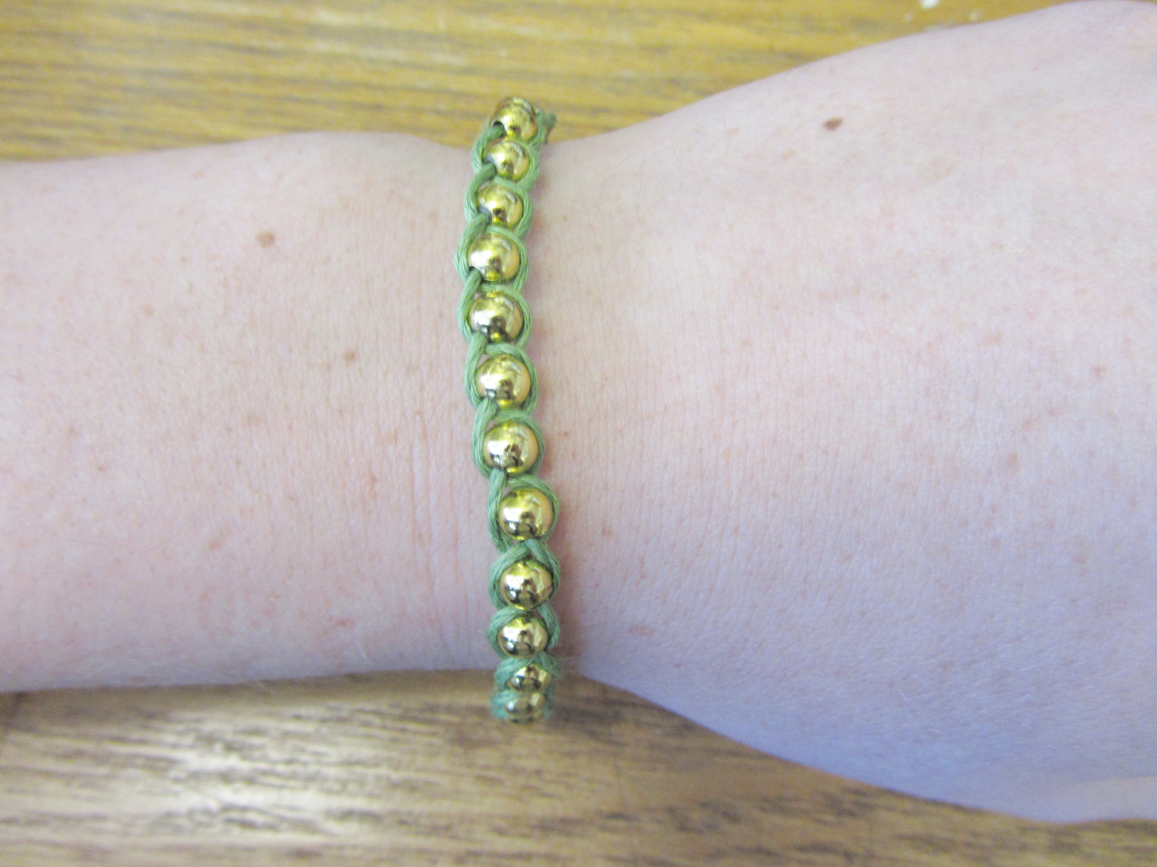 Picture of Braided Bead Bracelet