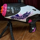 Wireless Remote Operated Nerf Rebelle Powerbelle Blaster