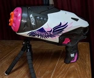 Wireless Remote Operated Nerf Rebelle Powerbelle Blaster