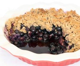 Easy Blueberry Crumble | Paleo Friendly