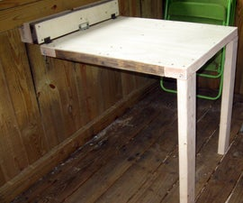 Collapsable Table (Treehouse/Shop)