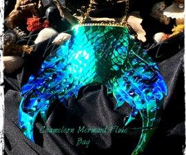 Iridescent Mermaid Tail Purse