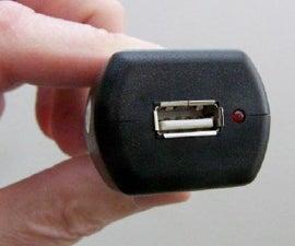 Improvise a Female USB Connector