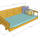 Porch Bed Swing: Relaxing Times Ahead