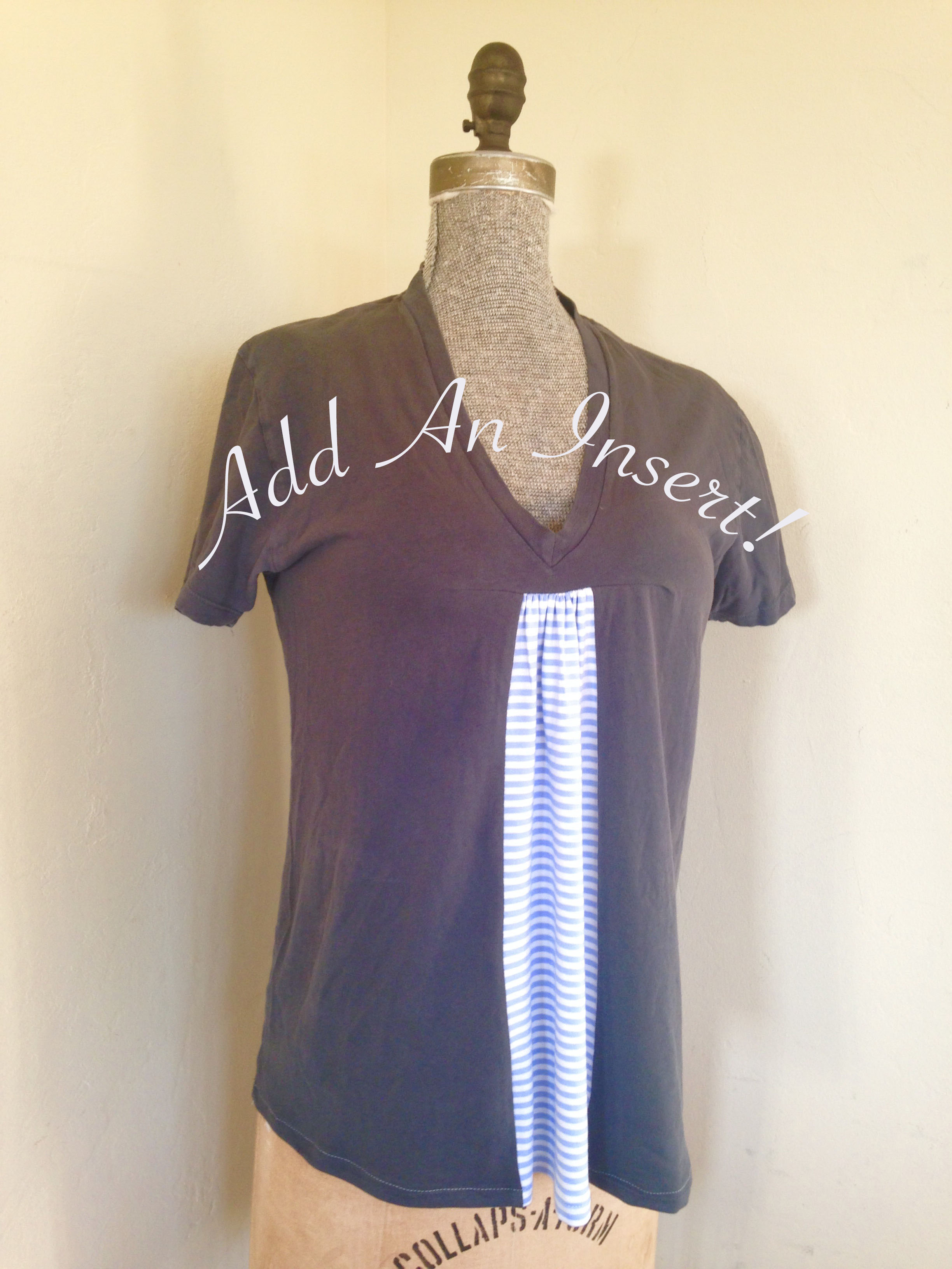 Picture of Add a Fun Insert to Any Plain Ol' Tee