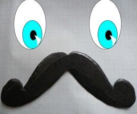 Make a Moustache-a-rang