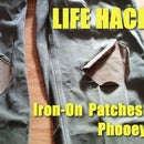 Iron-On Patches? Phooey!