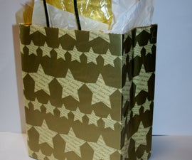 Plain Jane Paper Bag to Glam Jane Gift Bag