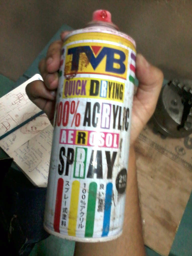 Picture of Spray Paint Finish!