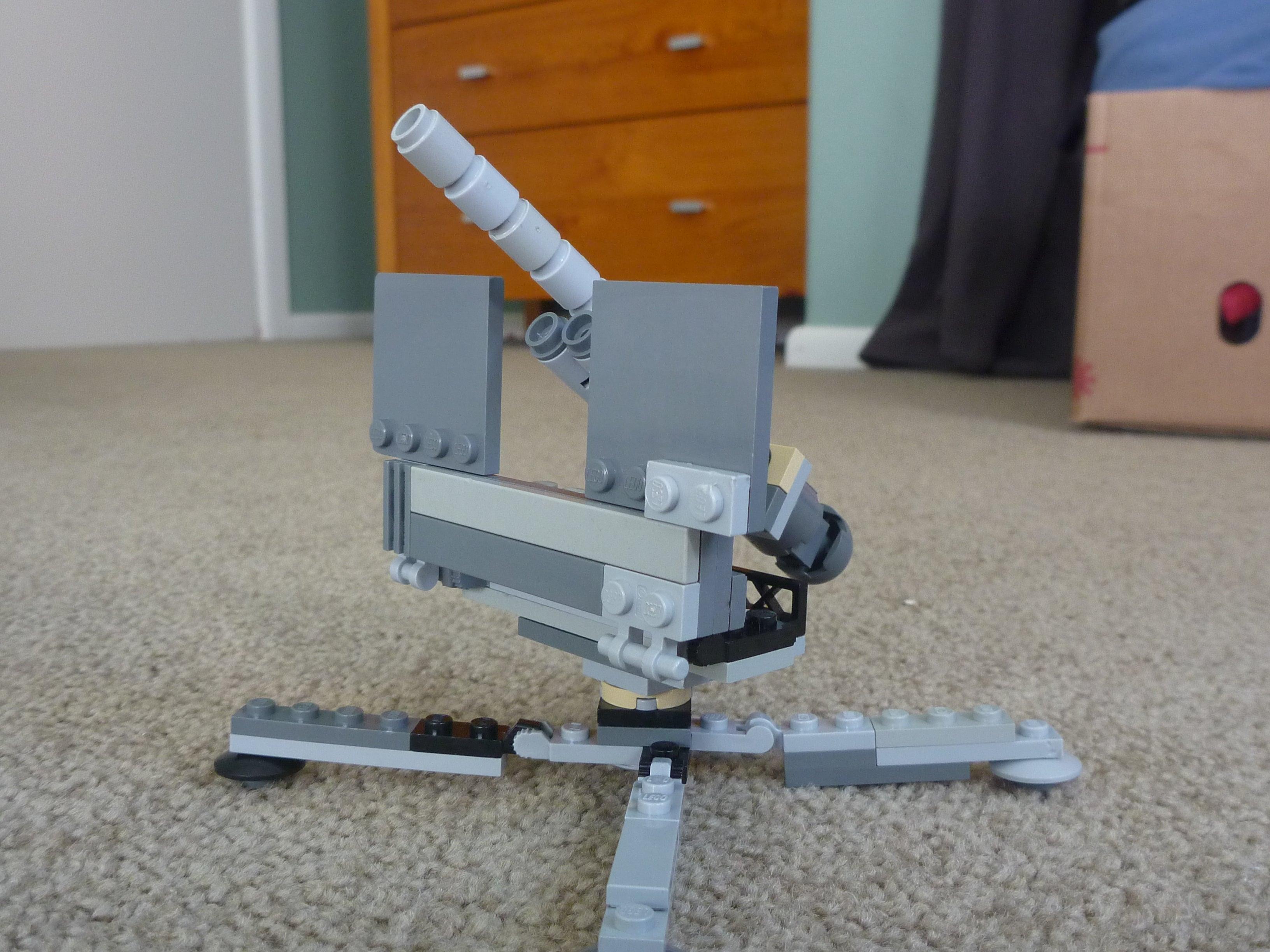 Lego Flak 88mm Anti-aircraft Gun
