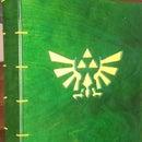 Legend of Zelda inspired Wood Binder
