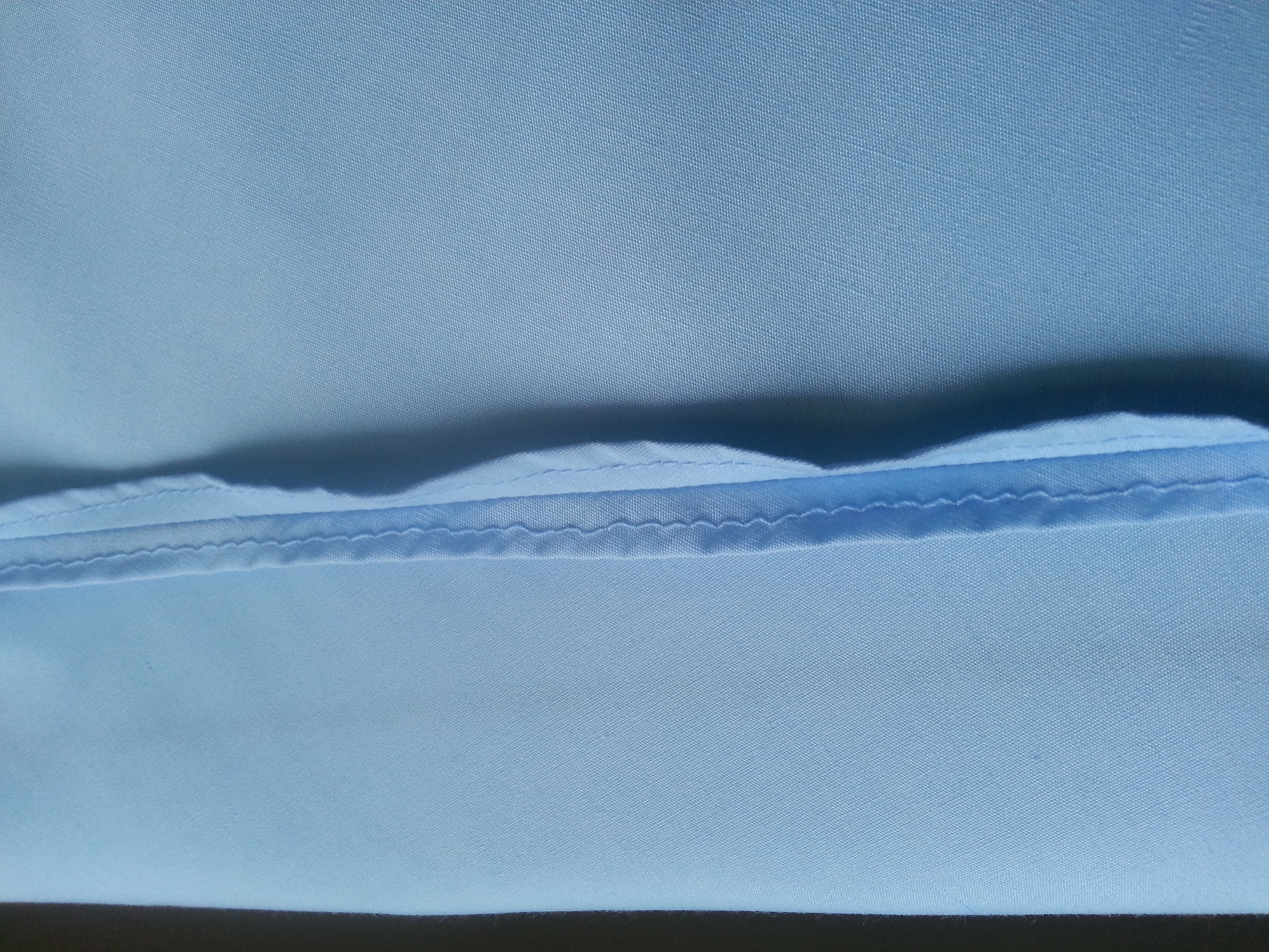 Picture of The LAST Seam..... and the Hem
