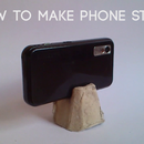 Make simple and cheap phone holder/tripod