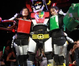 Voltron Force (5 Person assembling Epic Costume)