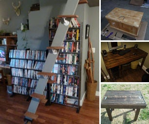 Salvaged & Reused Timber in the Home & Garden