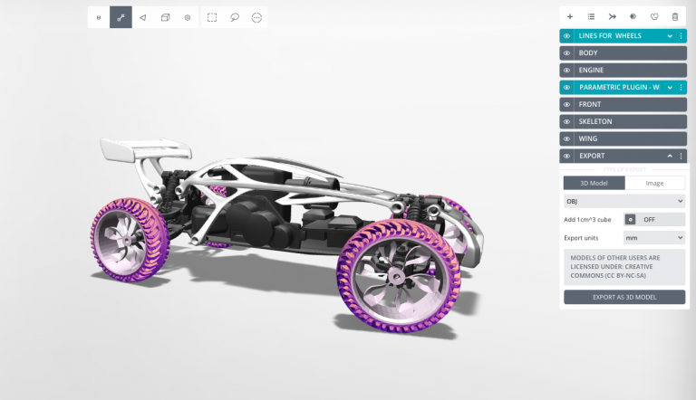 Picture of Export and 3D Print the Buggy