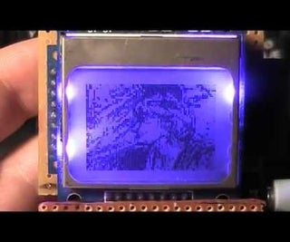 Streaming Video From SD Card to Nokia LCD With Arduino