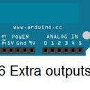 How to add 6 extra pins to your Arduino with no extra hardware