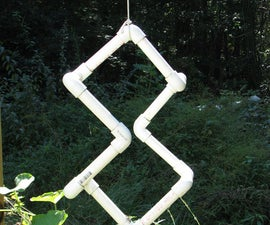 Build a 3D to 2D Projection Sculpture from PVC Pipe