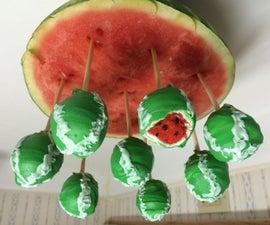 Watermelon Cake Pops