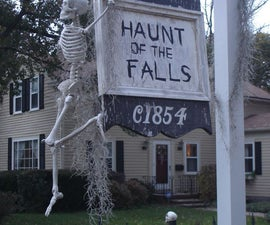 Family Friendly Halloween Display